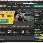 Betfinal Sports Website