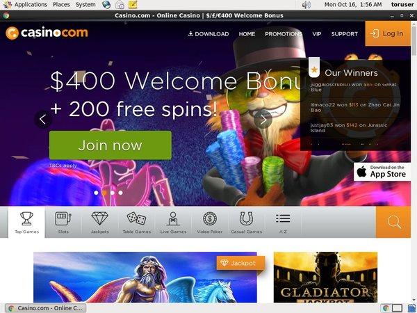 Casino.com Casino Spel Online