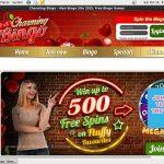 Charming Bingo No Deposit Bonus 2017