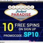 Jackpot Paradise Bingo Bonus