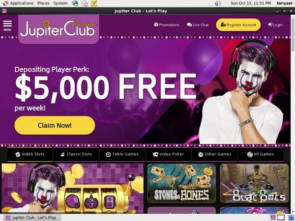 Jupiter Club Special Bonus