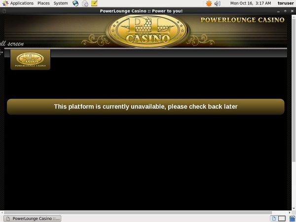 Power Lounge Casino 保証金