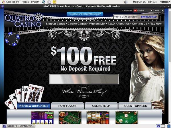 Quatro Casino Access
