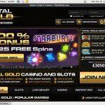 Total Gold Deposit Code