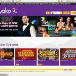 Yako Casino Match Bonus