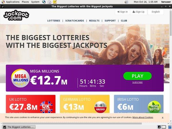 Jackpot.com Fast Bank Transfer