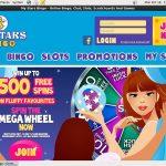 Get My Stars Bingo Bonus