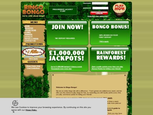 Bingo Bongo Besten Casino Bonus