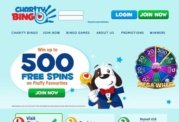 Charity Bingo Comps