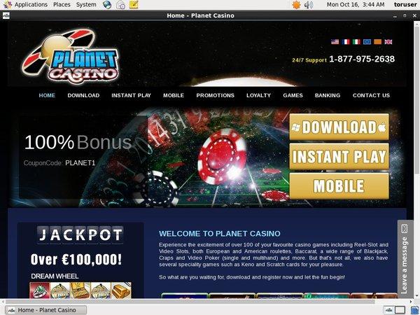 Planetcasino Online Slots