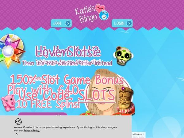 Katies Bingo 무료 보너스
