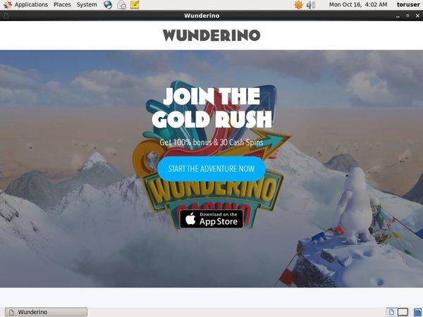 Wunderino Joining Promo Code