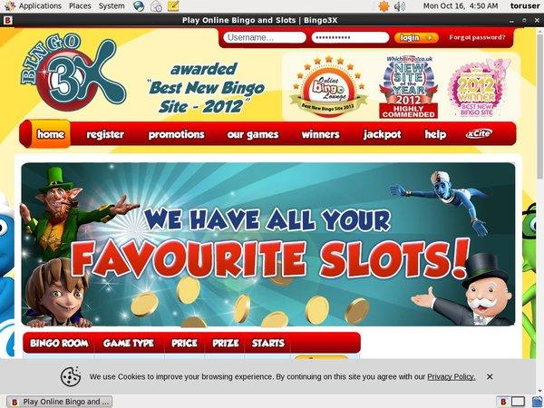 Bingo 3X игровые автоматы