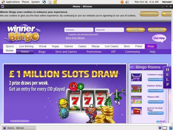 Winner Bingo Games