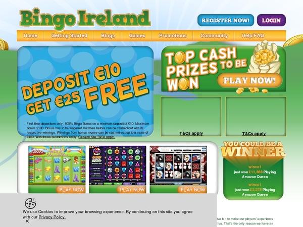 Bingo Ireland Bingo