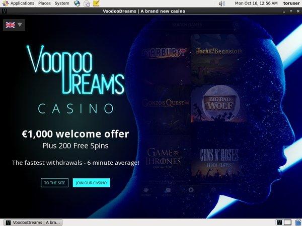 Voodoo Dreams Spelautomater