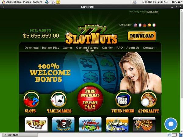 Slotnuts Loyalty Program