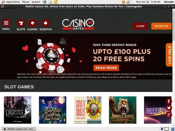 Casino Gates Odds To Win