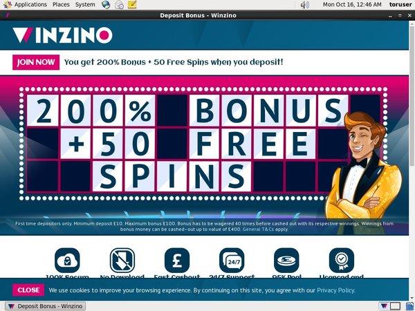 Winzino Joining Promo