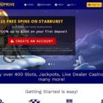 Best Online Casino Spinprive