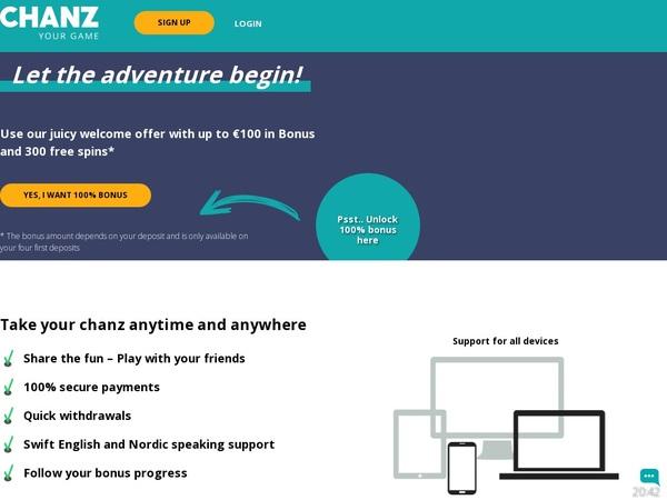 CHANZ Website