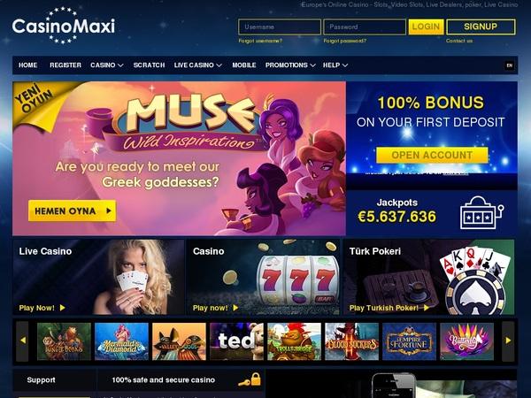 Casino Maxi New Customers