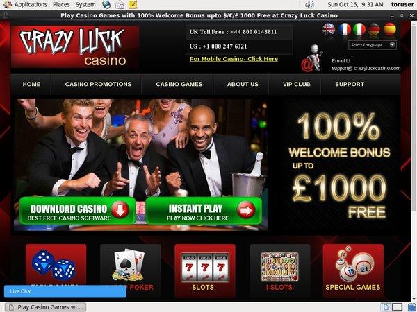 Casino Luck Casino Extraspel
