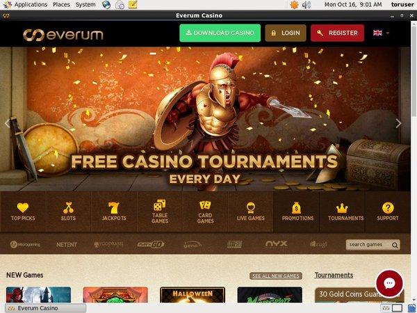 Everum Casino Öppna Konto Nu