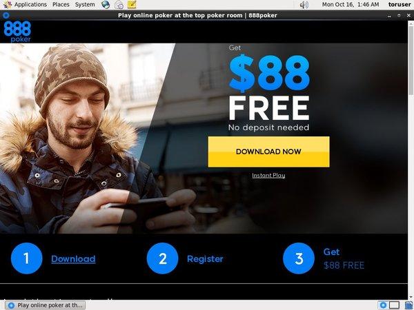 Free Bet 888 Poker
