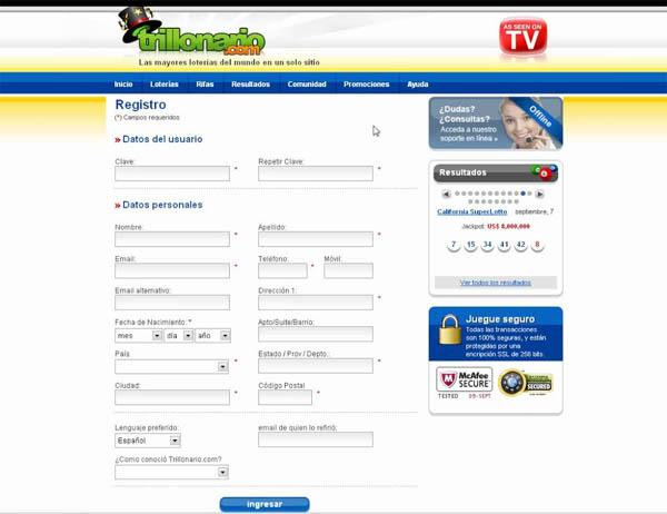 Trillonario Bet Online