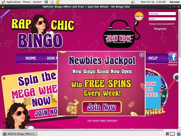 Rapchicbingo Get Free Spins