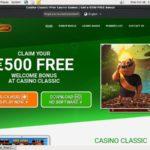 Casino Bonus Casino Classic Mobile