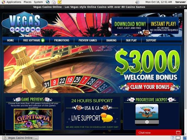 Vegas Casino Online Games Today
