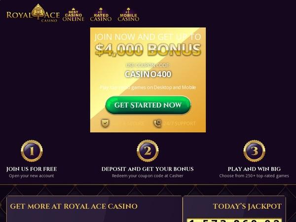 Royal Ace Casino Test
